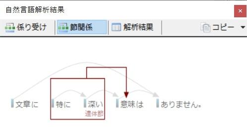 Tomarigiの使い方:係り受け可視化2